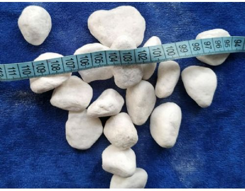 雪花白色鹅卵石
